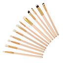 رخيصةأون أطقم فرش المكياج-12 فرش المكياج محترف الاصطناعية الشعر محمول / للسفر / متخصص الخشب