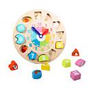 baratos Blocos de Espuma-Brinquedos Matemáticos Brinquedo de madeira do relógio 1 pcs Clássico Para Meninos Para Meninas Brinquedos Dom