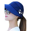 זול מוקסינים לנשים-כובע שמש כותנה דפוס בגדי ריקוד נשים / קיץ