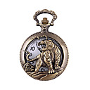 ieftine Ceas de buzunar-Bărbați Quartz Ceas de Mână Ceas de buzunar Ceas Casual Aliaj Bandă Charm Modă Bronz
