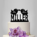 cheap Cake Toppers-Cake Topper Garden Theme / Classic Theme / Fairytale Theme Classic Couple Acrylic Wedding / Anniversary / Bridal Shower with 1 pcs OPP