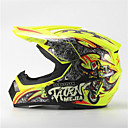 cheap Models & Model Kits-MEJIA Off-Road Motorcycle Racing Helmet Gloss Yellow Full Face Damping Durable Motorsport Helmet