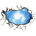 billige Julepynt-Landskap Still Life 3D Veggklistremerker 3D Mur Klistremerker Dekorative Mur Klistermærker, Vinyl Hjem Dekor Veggoverføringsbilde Gulv