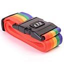 זול אחסון וארגון-רצועת מזוודות לחצות חגורה אריזה מתכווננת נסיעות מזוודה ניילון סיסמה לנעול אבזם רצועת חגורות המטען