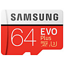 abordables Cartes Mémoire-SAMSUNG 64Go TF carte Micro SD Card carte mémoire UHS-I U3