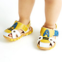 abordables Zapatos de Niño-Chico Zapatos Cuero Verano Confort Sandalias Paseo para Naranja / Amarillo / Azul