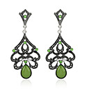 cheap Earrings-Women's Emerald - Emerald Vintage, Basic Green / Light Blue For Party Gift Evening Party
