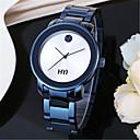 abordables Relojes de Vestir-Hombre Reloj de Moda / Reloj de Pulsera Aleación Banda Azul / Dorado / Oro Rosa