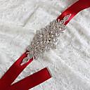 hesapli Parti Çorapları-Saten / Tül Tafta Saten Düğün Parti / Gece Kuşak With Taşlı Aplik Kadın's Kuşaklar