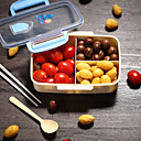 cheap Jars & Boxes-1pc Lunch Box Plastic Easy to Use Kitchen Organization