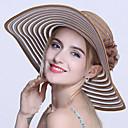 povoljno Party pokrivala za glavu-Žene Prugasti uzorak Vintage Šešir za sunce