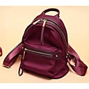 cheap Backpacks-Women Bags All Seasons Nylon Backpack for Casual Black Violet