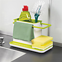 cheap Kitchen Cleaning Supplies-Kitchen Organization Rack & Holder Plastic Easy to Use 1pc