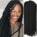 cheap Hair Braids-Braiding Hair Crochet / Havana Dreadlocks / Faux Locs 100% kanekalon hair / Kanekalon 24 roots / pack Hair Braids Soft / Dreadlock Extensions / Dreads Locs