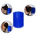 お買い得  犬グルーミング用品-ネコ 犬 ブラシ コーム マッサージ ブルー