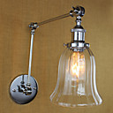 رخيصةأون السفر في الصحة-زهري / رجعي إضاءة بذراع متحرك معدن إضاءة الحائط 110-120V / 220-240V 40W