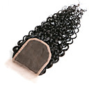cheap Vehicle Working Light-10inch braizlian kinky curly closure best virgin brazilian lace closure bleached knots closures free middle 3part closure