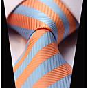 זול אביזרים לגברים-עניבת צווארון - פסים מסיבה / עבודה / יום יומי בגדי ריקוד גברים