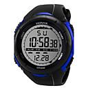 preiswerte Sportuhr-Herrn Sportuhr Digitaluhr Digital Schwarz 30 m Armbanduhren für den Alltag Cool digital Weiß Schwarz Blau