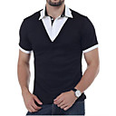 cheap Fidget Spinners-Men's Polo - Solid Colored Shirt Collar / Short Sleeve