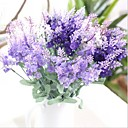 cheap Artificial Flower-Artificial Flowers 1 Branch European Style Lavender Tabletop Flower