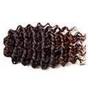 cheap Hair Braids-Braiding Hair Curly / Crochet / Deep Wave Curly Braids / Hair Accessory / Human Hair Extensions 100% kanekalon hair / Kanekalon Hair Braids Daily