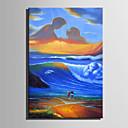 halpa Abstraktit maalaukset-Hang-Painted öljymaalaus Maalattu - Abstrakti Nykyaikainen Kangas