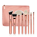 preiswerte Make-up-Pinsel-Sets-8St Makeup Bürsten Professional Bürsten-Satz- / Rouge Pinsel / Lidschatten Pinsel Künstliches Haar / Vliesstoff Holz