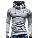 cheap Wallets-Men's Sports Contemporary / Active / Basic Long Sleeve Slim Hoodie - Solid Colored Hooded / Spring / Fall / Winter