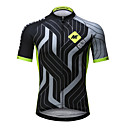 cheap Cycling Jerseys-Mysenlan Men's Short Sleeve Cycling Jersey - Green+Gray Bike Jersey, Quick Dry, Breathable Polyester