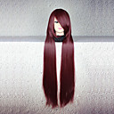 baratos Perucas Anime-Perucas de Cosplay Fantasias Fantasias Anime Perucas de Cosplay 80cm CM Fibra Resistente ao Calor Homens Mulheres