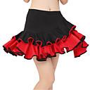 tanie Tabletki graficzne-Taniec latynoamerykański Damskie Falbana kaskadowa Dropped Spódnice