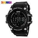 cheap Smartwatches-Men's Sport Watch Skeleton Watch Military Watch Quartz Digital 30 m Water Resistant / Water Proof Alarm Calendar / date / day Silicone Band Digital Charm Luxury Casual Multi-Colored - Black Red Blue