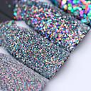 cheap Nail Glitter-colorful shining nail glitter sequins 3g hexagon flakies powder dust 0 15mm 1mm manicure nail art decoration