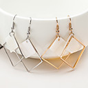 cheap Earrings-Women's Geometric Drop Earrings - Shell Dangling Style Gold / Silver For Christmas Gifts / Wedding / Party