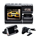 abordables Guantes de Fiesta-X6 1080p DVR del coche Gran angular 2 pulgada Dash Cam con Detección de Movimiento 4 LEDs Infrarrojos Registrador de coche / 2.0