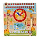 זול צעצועי קריאה-קלפי פלאש חינוכיים צעצוע שעון עץ ריבוע חינוך בנים צעצועים מתנות
