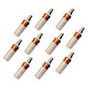 economico Lampadine LED a pannocchia-10 pezzi 12 W LED a pannocchia 980 lm E14 T 84 Perline LED SMD 2835 Bianco caldo Luce fredda