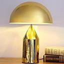 baratos Luminárias de Mesa-Moderno/Contemporâneo Proteção para os Olhos Luminária de Mesa Para Metal 220V Preto Bronze Dourado