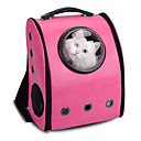 cheap Dog Clothes-Cat Dog Carrier & Travel Backpack Astronaut Capsule Carrier Pet Carrier Portable Breathable Solid Yellow Coffee Rose Pink