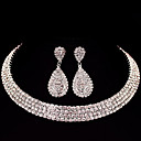 cheap LED Strip Lights-Women's Jewelry Set - Classic, Basic Include Silver For Christmas Gifts / Wedding / Party / Special Occasion / Anniversary / Birthday / Engagement / Valentine