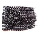 billige Hundehalsbånd og bånd-Ekte hår Krøllet Peruviansk hår 400 g