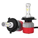 baratos Faróis para Carros-H4 Carro Lâmpadas 36W LED Integrado 3600lm LED Lâmpada de Farol