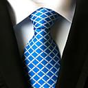 זול אביזרים לגברים-עניבת צווארון - Houndstooth פריטים לצוואר בגדי ריקוד גברים