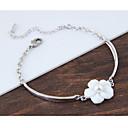 cheap Bracelets-Women's Charm Bracelet - Shell Flower Fashion Bracelet White For Birthday