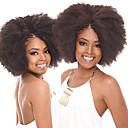 preiswerte Haarzöpfe-Geflochtenes Haar Afro Afro verworren Zöpfe / Echthaar Haarverlängerungen 100% kanekalon haare 10 Wurzeln / Packung Haar Borten Alltag