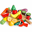 olcso Játékkonyhák és ételek-Étel Gyümölcs & zöldség Gyümölcs & zöldség szeletelők Mágneses Klasszikus Fiú Lány Játékok Ajándék