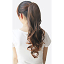 cheap Synthetic Capless Wigs-Ponytails Bear Claw/Jaw Clip Synthetic Hair Hair Piece Hair Extension Curly