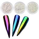 billige Nail Glitter-Pailletter / Pudder Klassisk Nail Art Design Daglig