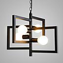 billige Hengelamper-4-Light Geometrisk Anheng Lys Omgivelseslys Malte Finishes Metall Matt, Lighting, Spesiell design 110-120V / 220-240V Pære ikke Inkludert / E26 / E27